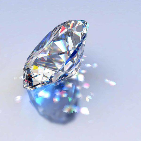 יהלום עגול 1.28 CVD