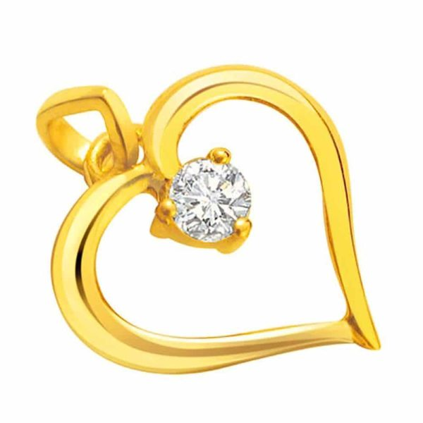 Heart Shape 3 Nails Diamond