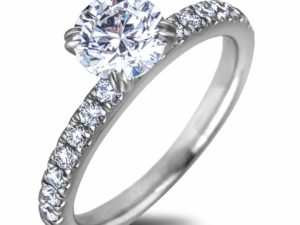 diamond engagement ring 1 ct