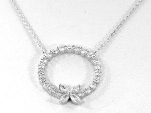 marquise diamonds necklace